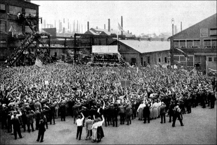 Bethlehem Steel Patriotic Rally 1918